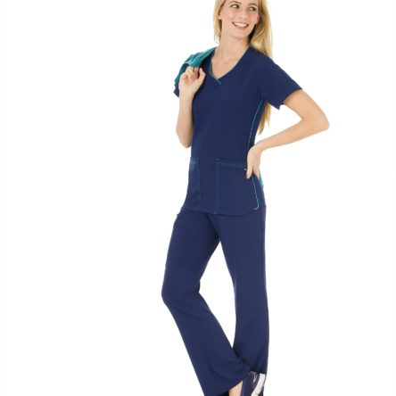 Jockey 2339 Scrubs Sporty V-Neck Top
