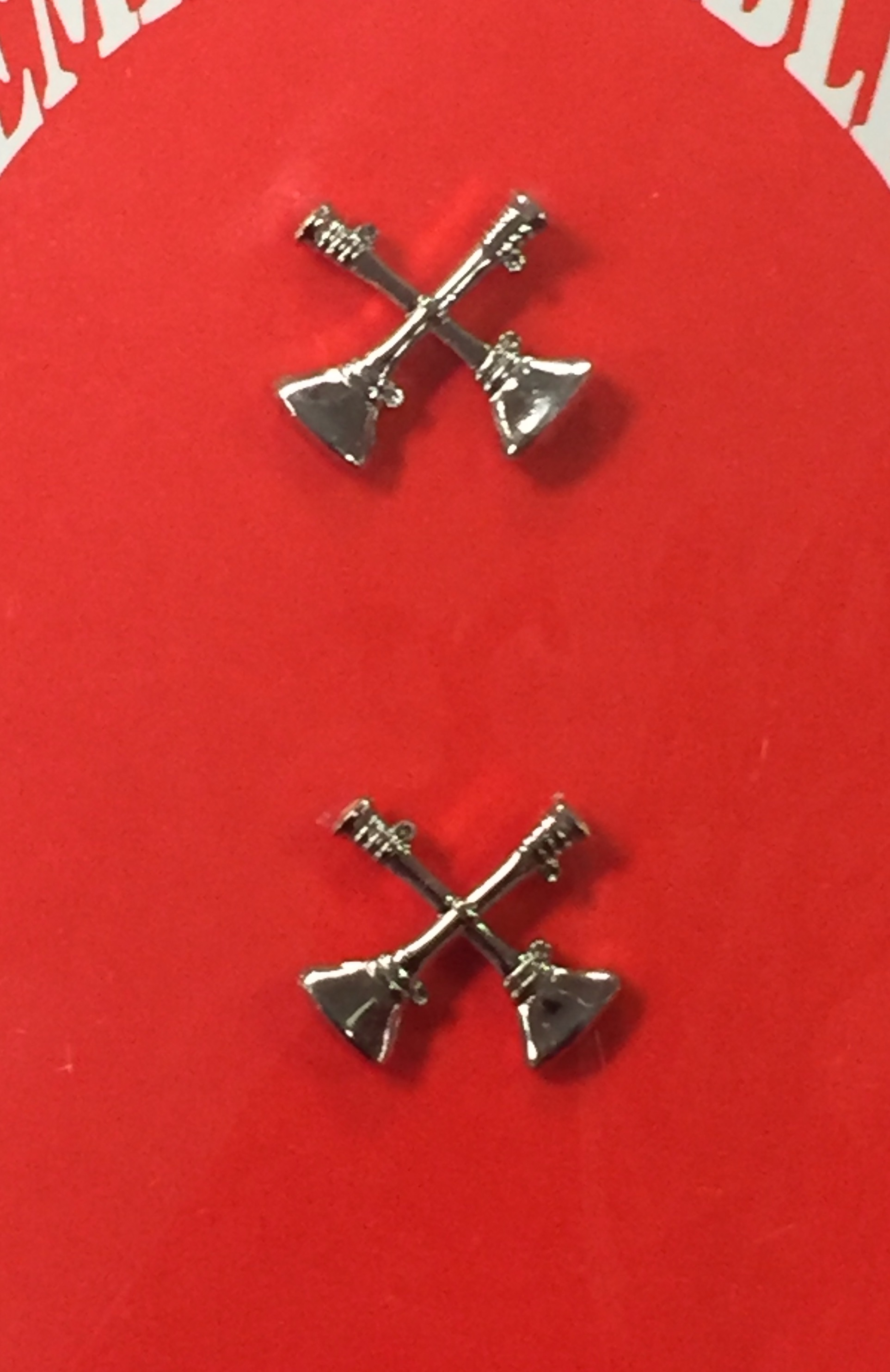 Buy Here Pay Here Lexington Ky >> Collar Pins – Two Crossed Bugle – Kentucky Uniforms