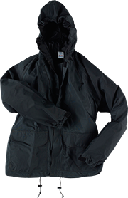 Neese Breathable Rain Jacket w/ Attached Hood